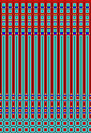 Square Wave Generated Image