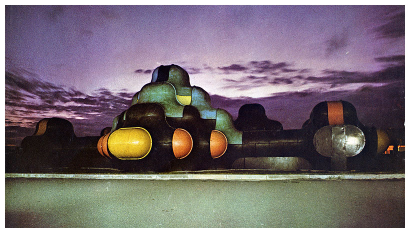 """""""The Fifth Dimension"""", a fun palace built on the edge of the beach at Girvan"""